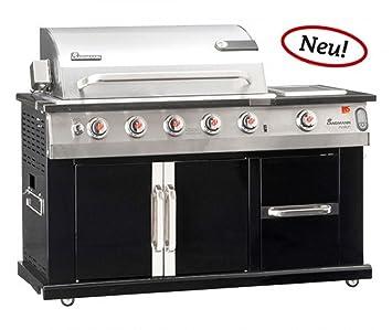 Barbacoa cocina Avalon PTS 6.1 + - 4 variable de acero ...