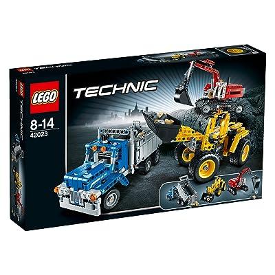 LEGO Technic 42023 Construction Crew: Toys & Games