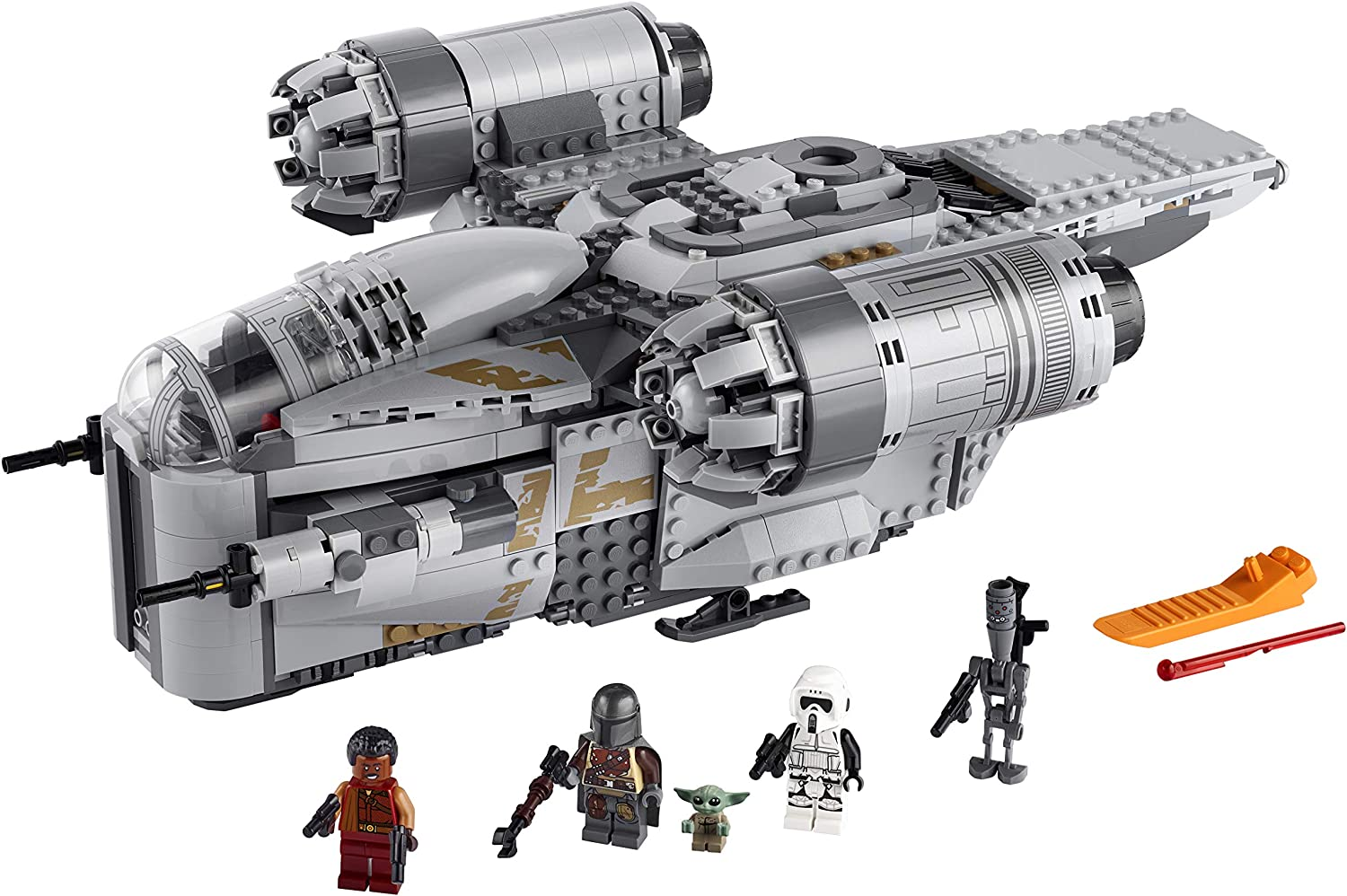 LEGO Star Wars: The Mandalorian The Razor Crest 75292 Building Kit, New 2020, Amazon Exclusive (1,023 Pieces)