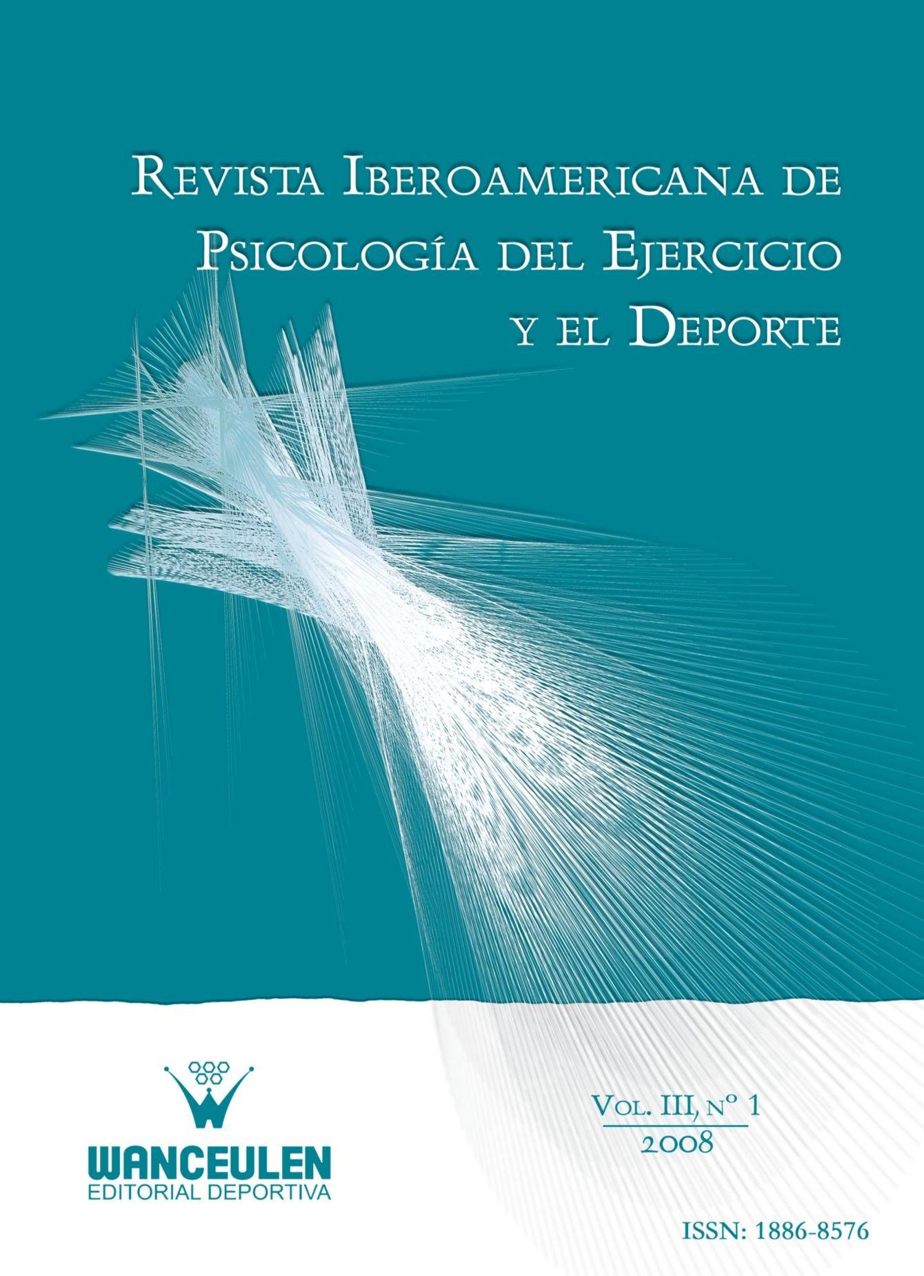 Download Revista Iberoamericana De Psicología Del Ejercicio Y El Deporte Vol III, Nº 1 (Spanish Edition) pdf