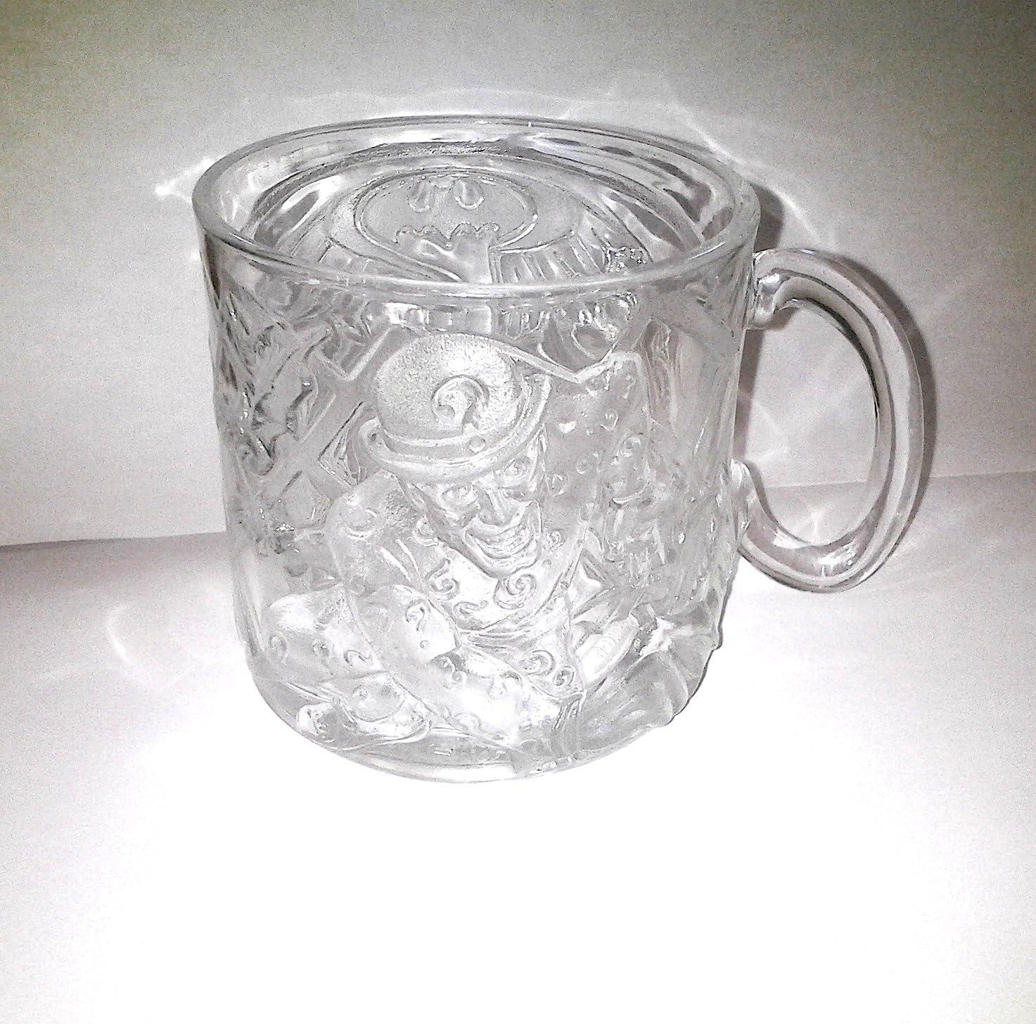 RIDDLER BATMAN ROBIN 1995 BATMAN FOREVER MCDONALDS  GLASS CUPS