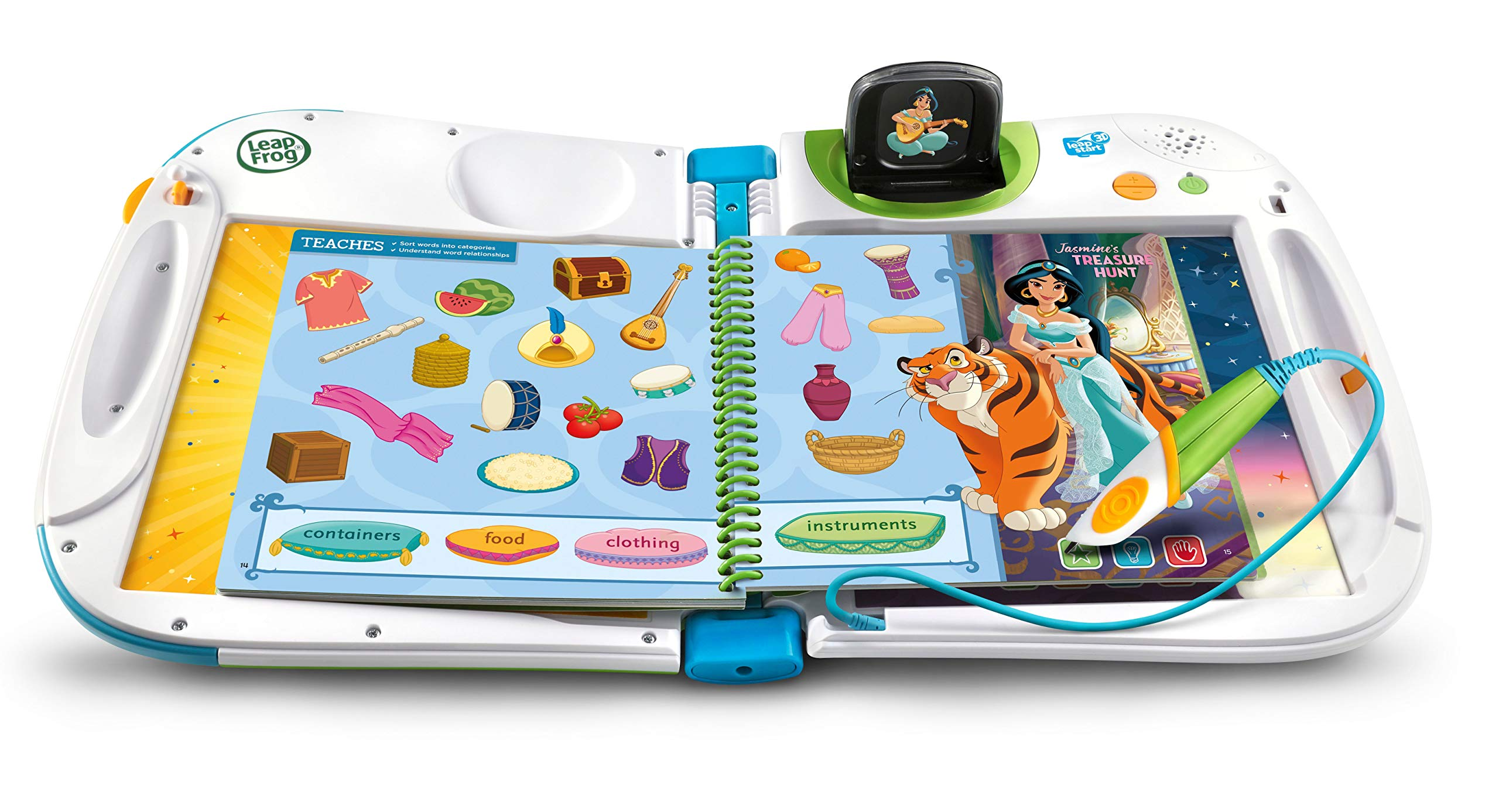 Leapstart Preschool: Disney Princess Shine with Vocabulary Activity Book (3D Enhanced) by LeapFrog (Image #5)