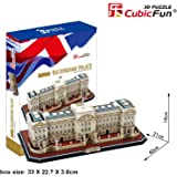 Cubic Fun 3D Jigsaw Puzzle Buckingham Palace London England Scale Model Monument Building Decorative Educational Toy