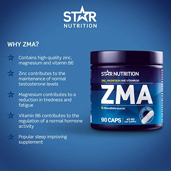 star nutrition zma