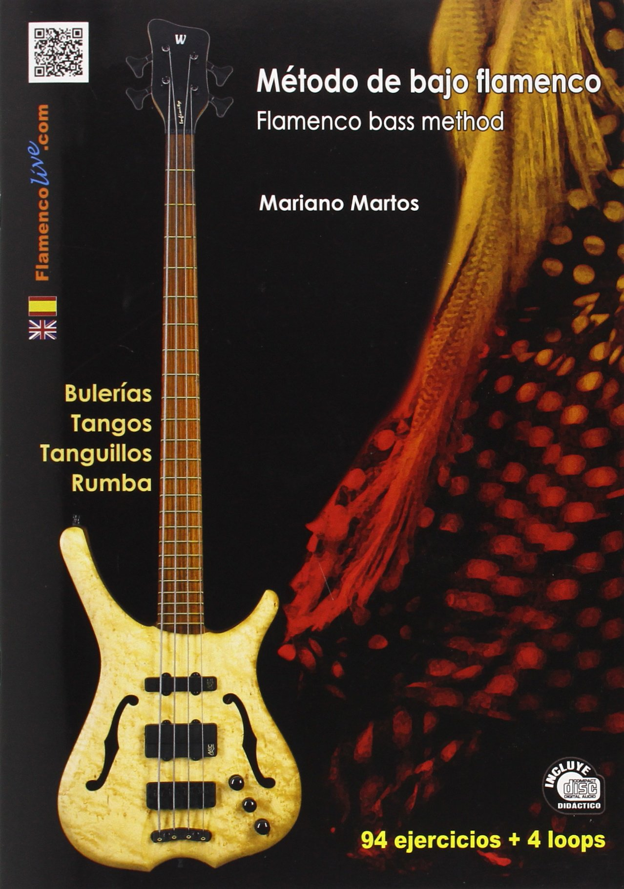 Método de Bajo Flamenco Libro/CD - Flamenco Bass Method Book/CD ...