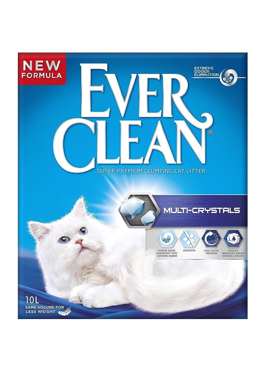 Ever Clean Litière pour chat Multiple 10litres Clorex Company EEVC037