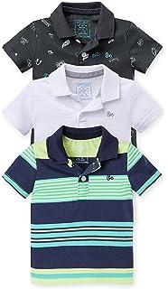 OFFCORSS Toddler Boy Cotton Polo T Shirt Camisa Camisetas Tipo Polo para  Niños 07efc90fd1fa0