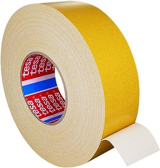 25 m auf Rolle || 38 mm x 25 m Teppichklebeband doppelseitig Verschiedene Breiten Beidseitig stark klebend Teppichverlegeband