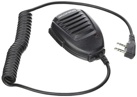 124 opinioni per Baofeng altoparlante microfono mic uv-b5 uv-b6 uv-5r uv-66 uv-82 uv-89 radio