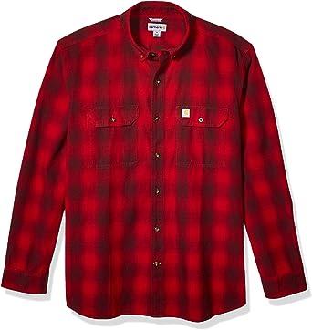 Carhartt - Camisa de manga larga para hombre: Amazon.es: Ropa y accesorios