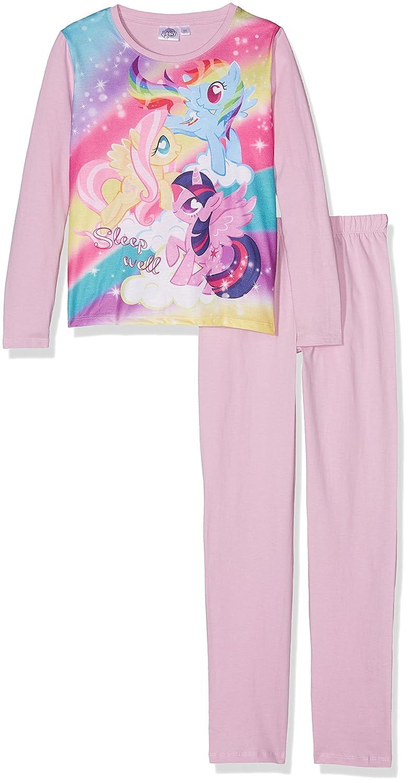 Hasbro My Little Pony Girls Long Sleeve Pyjamas Pjs Set 100% Cotton 3-10  Years - New 2017 18  Amazon.co.uk  Clothing 13de437ba