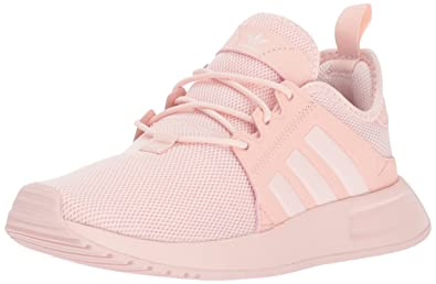 low priced 68be9 b67cb adidas Originals Girls  X PLR J Running Shoe, ICE Pink, 3.5 Medium US Big