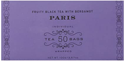 Harney & Sons Fruity Black Tea with Bergamot, Paris, 50 Tea Bags