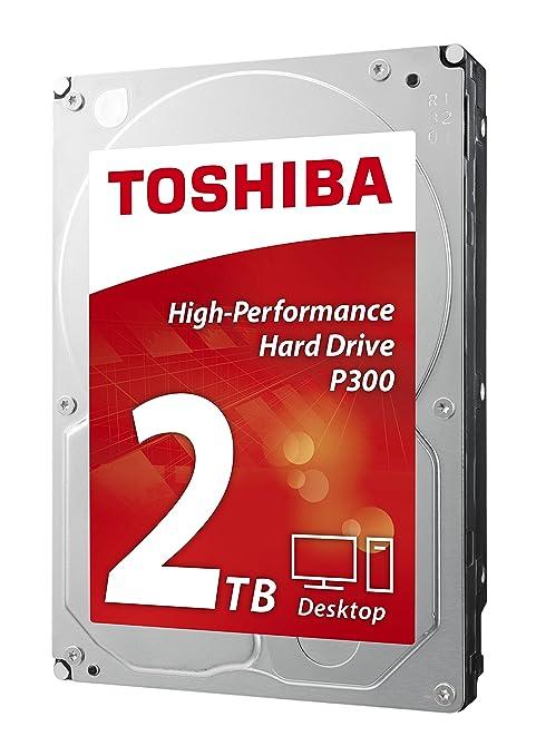 Toshiba P300 2TB Desktop 3.5 Inch SATA 6Gb s 7200rpm Internal Hard Drive SATA at amazon