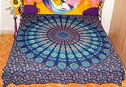HANDICRAFTOFPINCITY Mandala Duvet Cover Indian Doona Cover Decorative Cotton Quilt Cover