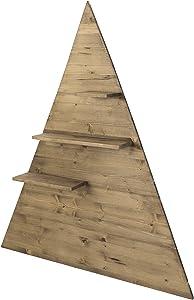 Decowood Tree Shelf Small, Wood, Brown, 40x 50x 15cm