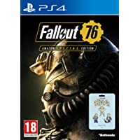 Fallout 76: S.*.*.C.*.*.L. Edition (Game + 3 Pin Badges) (Amazon EU Exclusive) (PS4)