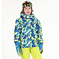HAIVIDO Big Boys & Girls Ski Jackets with Removable Hooded Water-Resistance & Windproof Thicken Thermal Boys Snow…