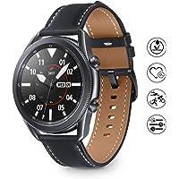 Samsung Galaxy Watch 3 Smartwatch Bluetooth, behuizing 45 mm, staal, lederen band, satuurmeter, valherkenning…