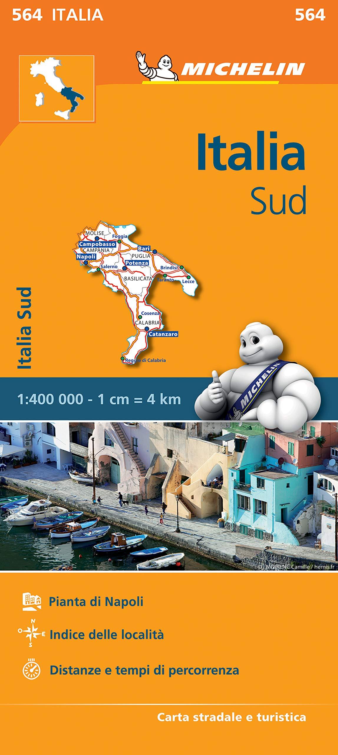 Cartina Stradale Michelin Italia.Amazon It Carta Stradale Italia Sud Map Aa Vv Libri
