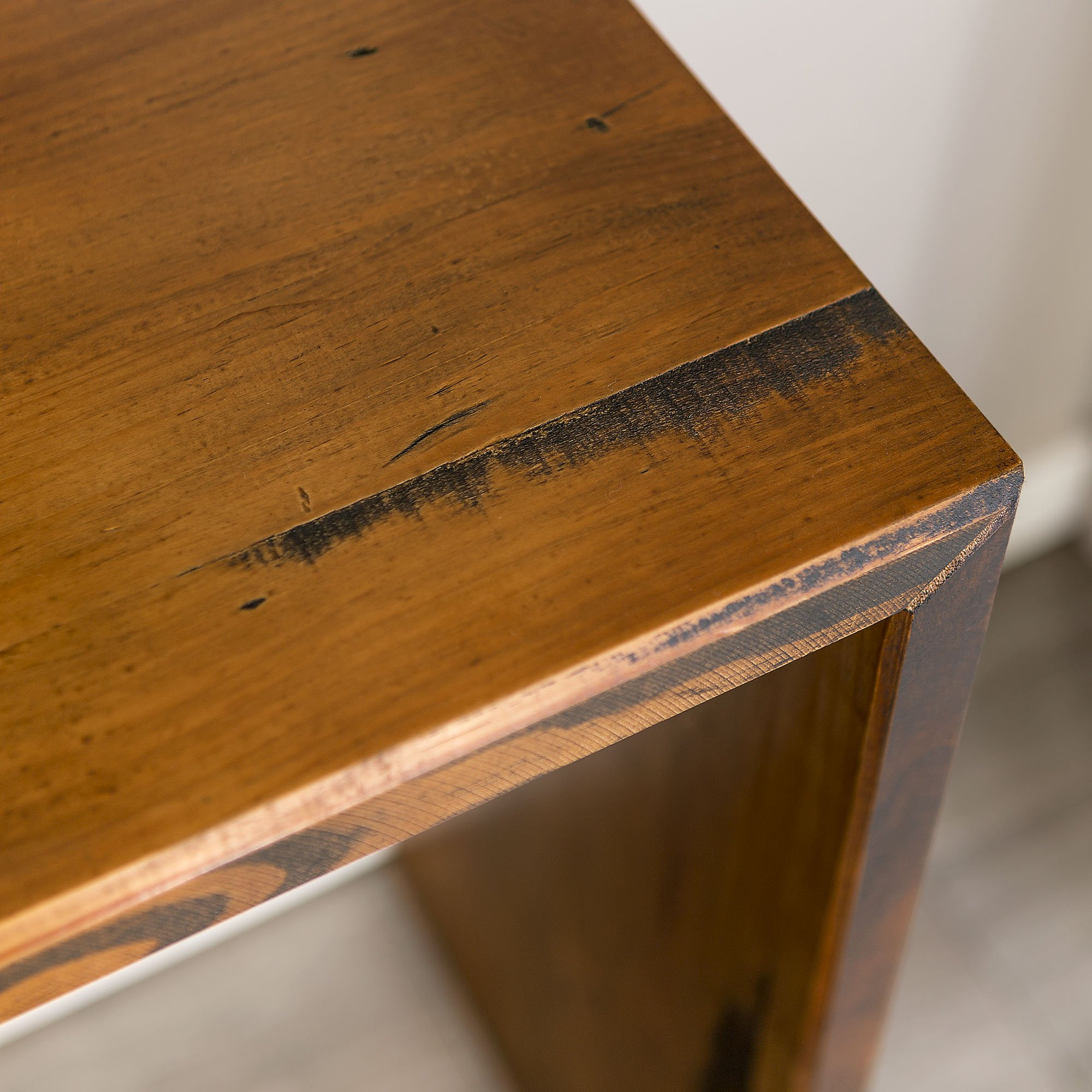 WE Furniture Reclaimed Wood Entry Table in Amber - 48'' by WE Furniture (Image #2)