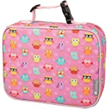 Insulated Lunch Box Sleeve - Securely Cover Your Bento Box - Owl