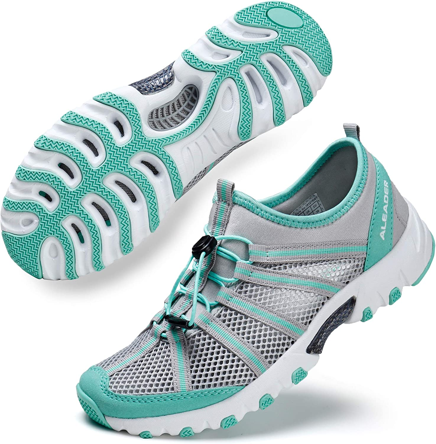 ALEADER Women s Water Hiking Shoe, Breathable, Wet-Traction Grip
