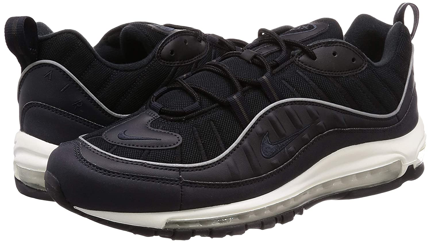 Nike Air Max 98 Oil gris negro Boys,zapatillas deportivas