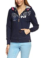 TOM TAILOR POLO TEAM Damen Sweatshirt 25152590073/hooded sweatjacket