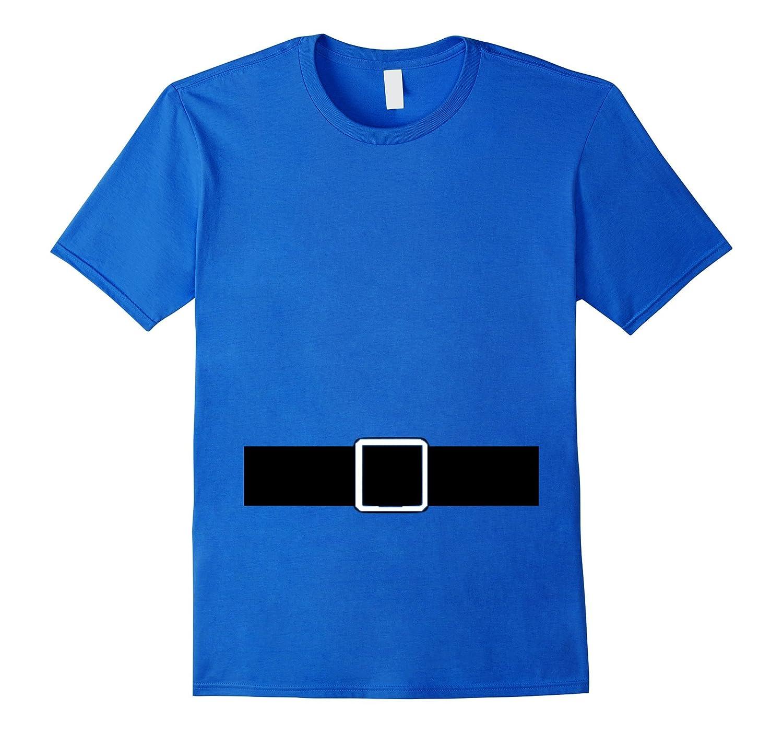Gnome Costume Shirt Men Women Boys Girls Blue-FL