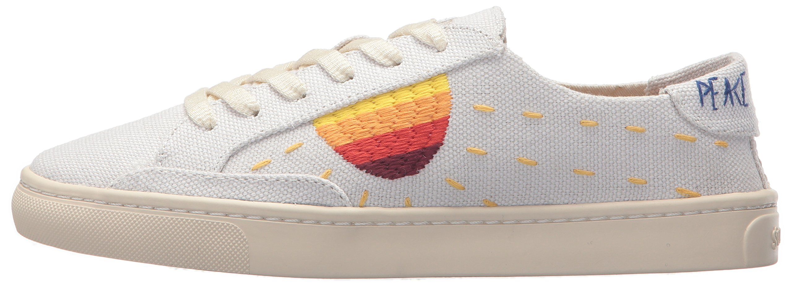 7d69e38a9 Soludos Women's Embroidered Sun Sneaker | Amazon