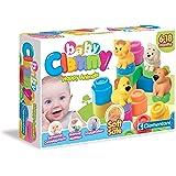 Clementoni 14773 Happy Animals - Juego de bloques con animales para bebés