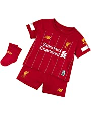 fbe7ea143 New Balance Children's Official Liverpool FC 2019/20 Home Infant Kit Set