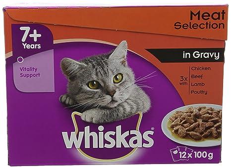 whiskas - Bolsas de Gato para Pesca en gelatina