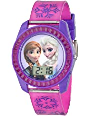 Disney 's Frozen Elsa y Anna cantando reloj – Let It Go.