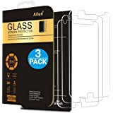 Moto Z Play Screen Protector,[3 Pack]by Ailun,9H Hardness,Ultra Clear,Anti-Scratch,Case Friendly,Tempered Glass for Moto Z Play, NOT for Moto G4 Plus,Moto G4 Play,Moto G4,LG G4 -Siania Retail Package