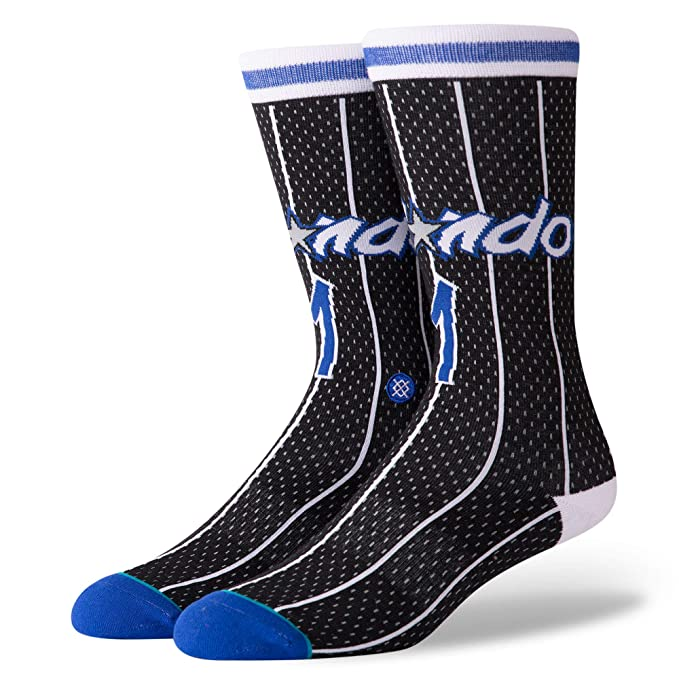 Stance Calcetines NBA Orlando Magic 95 HWC The Uncommon Thread Negro/Azul/Blanco: Amazon.es: Deportes y aire libre