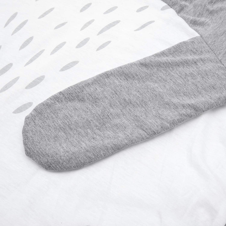 Fransande Alfombra redonda de 90 cm para ni/ños manta de arrastre regalos de beb/é conejo alfombra de suelo para decoraci/ón de habitaci/ón de los ni/ños alfombra de algod/ón