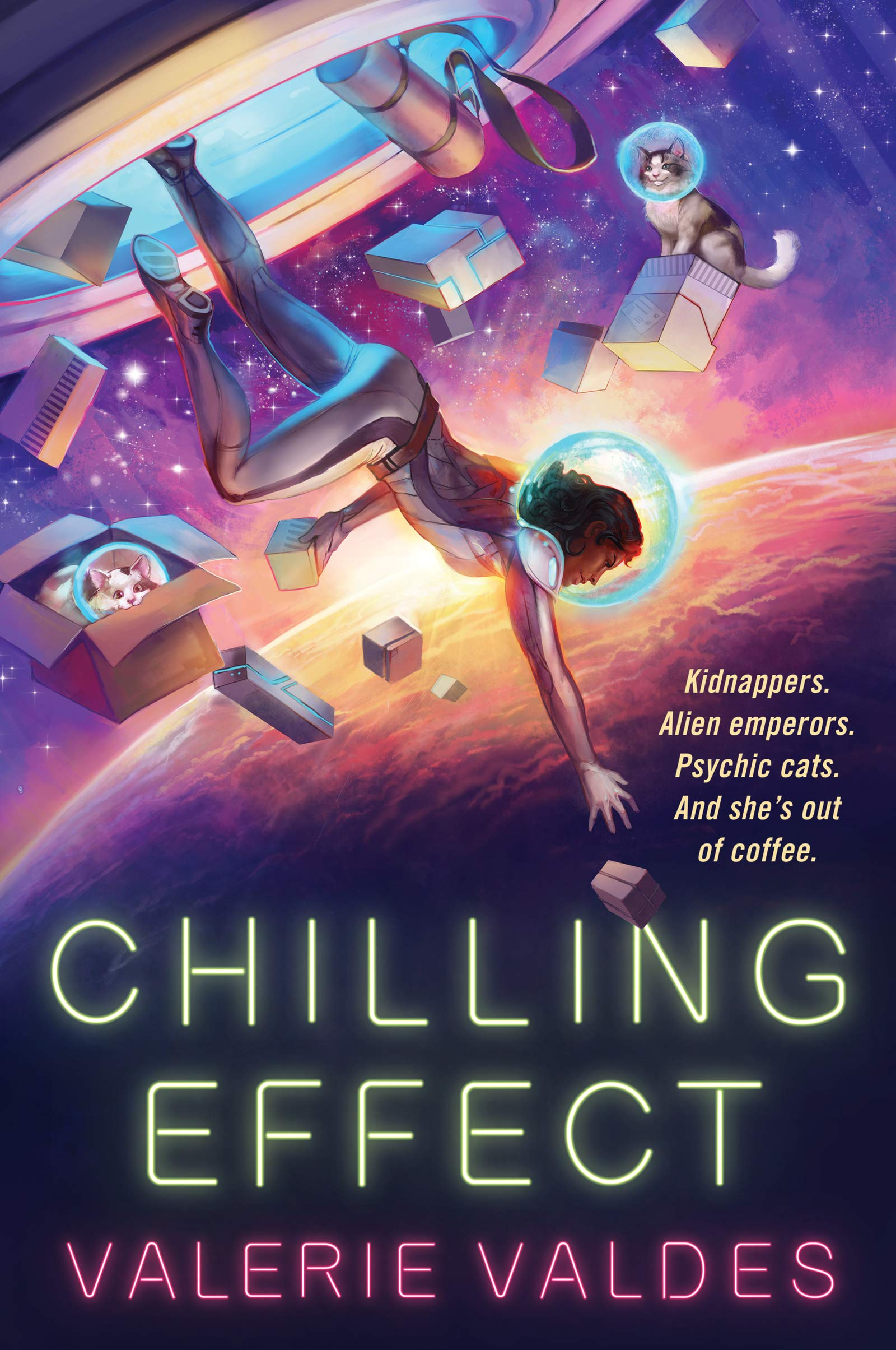 Chilling Effect: Valdes, Valerie: 9780062877239: Amazon.com: Books