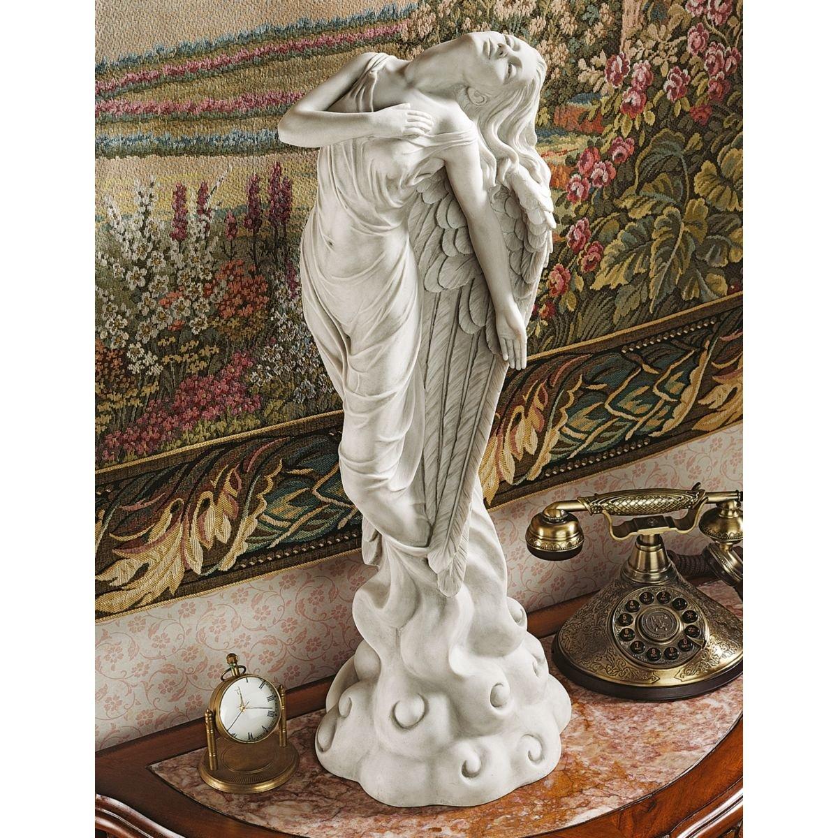 Amazon.com: Design Toscano Ascending Angel Sculpture - Medium: Home ...