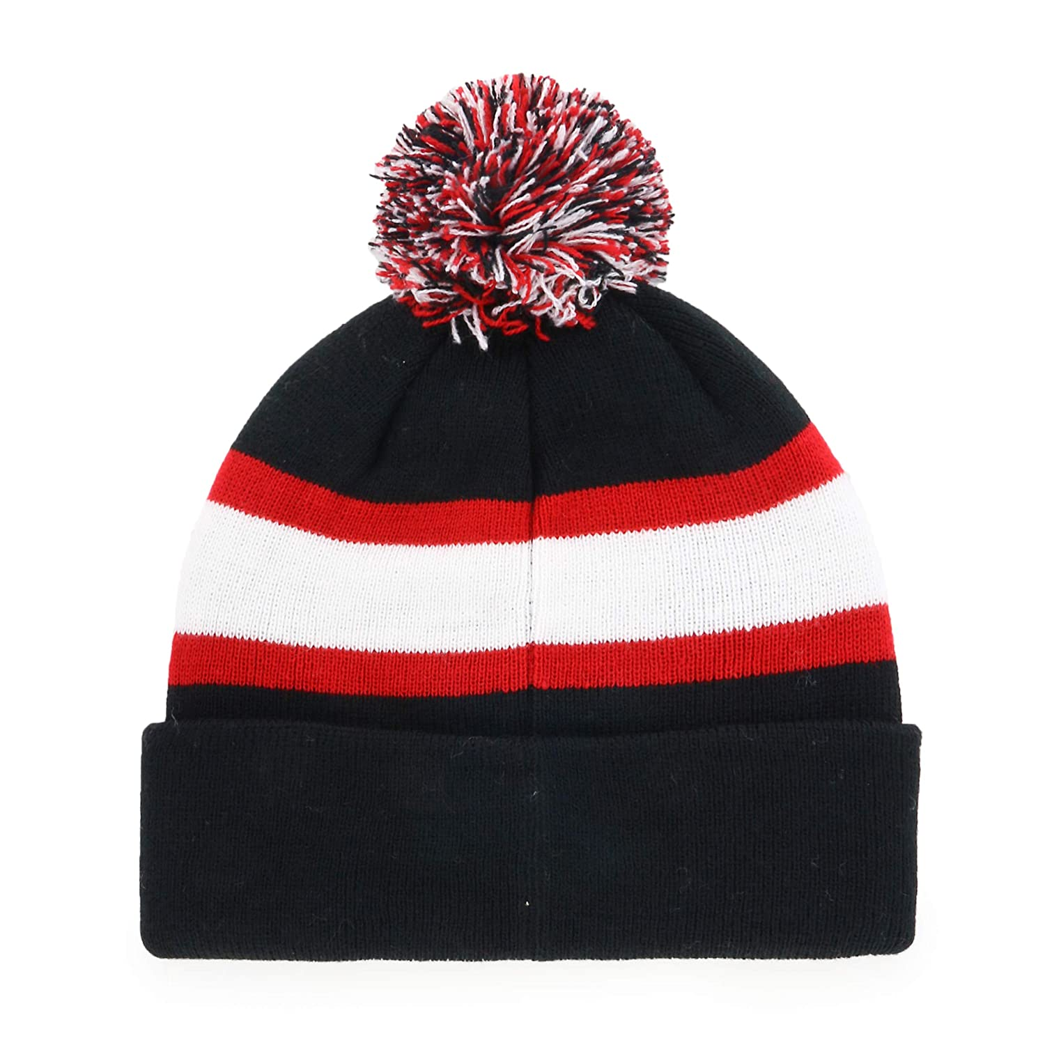 OTS NBA Youth Rush Down Cuff Knit Hat with Pom