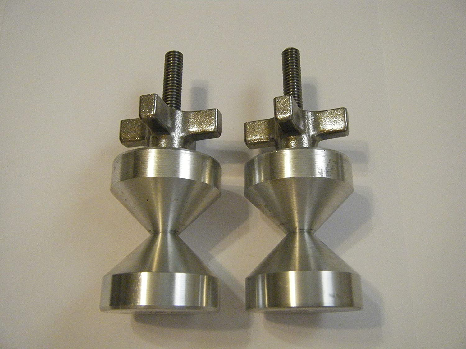 """2/""""-Two hole pin--6061 Aluminium 3//8-16 QUICK KNOBS two sets"""