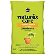 Nature's Care 71283630 Organic Potting Mix with Water Conserve, 32-Quart