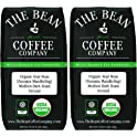 2-Pack The Bean Coffee Company Organic Kopi Bean 16-Ounce Bags