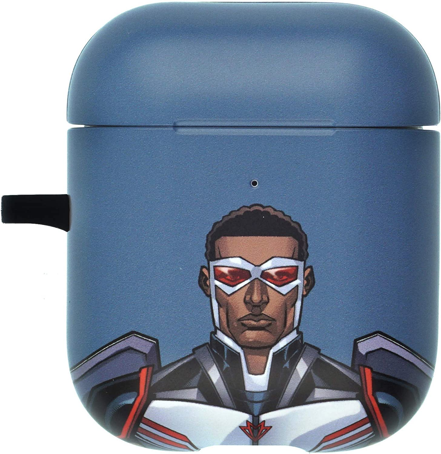 Avengers AirPods Case with Neck Lanyard Protective Hard PC Shell Strap Hole Cover Front LED Visible Accessories Compatible with Apple Airpods 1 /& AirPods 2 Action Iron Man