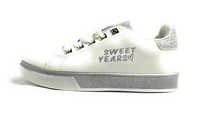 Sweet Years ssw249 s 18 Bianco White Sneakers Donna Woman