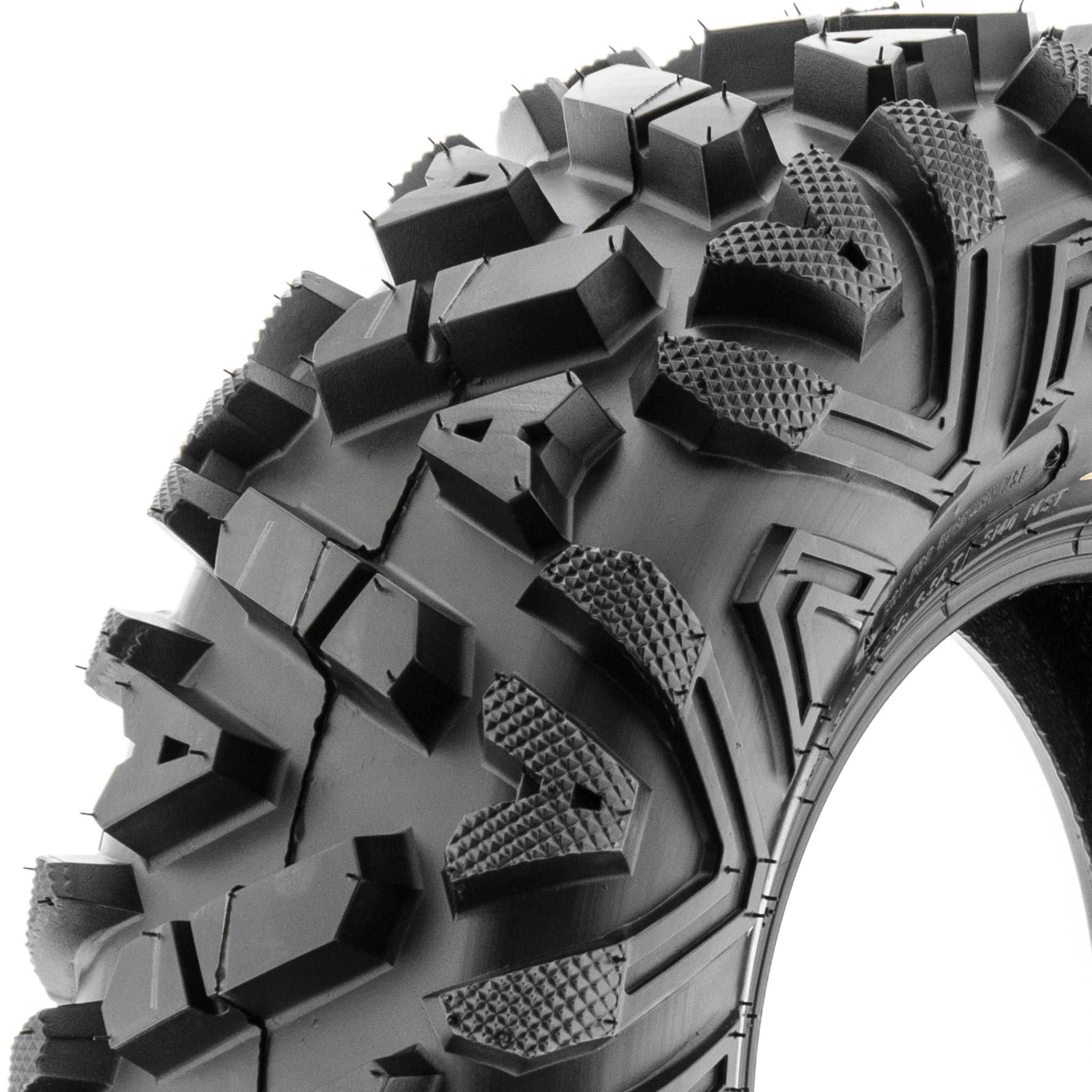 SunF ATV UTV A/T 26x8-12 All Trail 6 PR Tubeless Replacement Tire A033 POWER I, [Single]