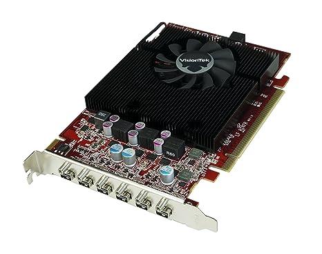 VisionTek 7750 Eye 6 - Tarjeta gráfica (2 GB de Memoria DDR5, PCI Express)