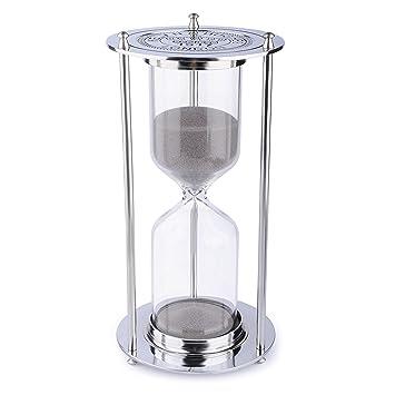 amazon com 60 minutes metal hourglass glass timer bnest