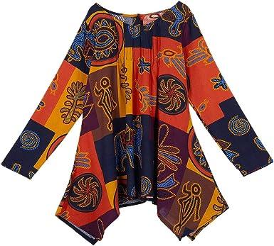 REFURBISHHOUSE - Camisas - para mujer Naranja naranja XL: Amazon.es: Ropa y accesorios